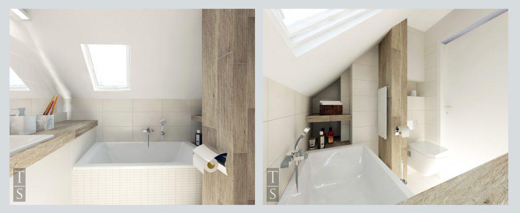 Jak Zaprojektować łazienkę Ze Skosem Trykowska Studio