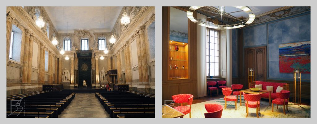 Wnętrza Zamku Królewskiego w Sztokholmie to nie tylko pałacowy barok, ale także styl skandynawski w eleganckim wydaniu