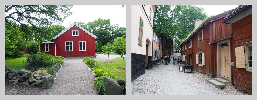 Skansen, czyli dawna wieś i miasteczko szwedzkie