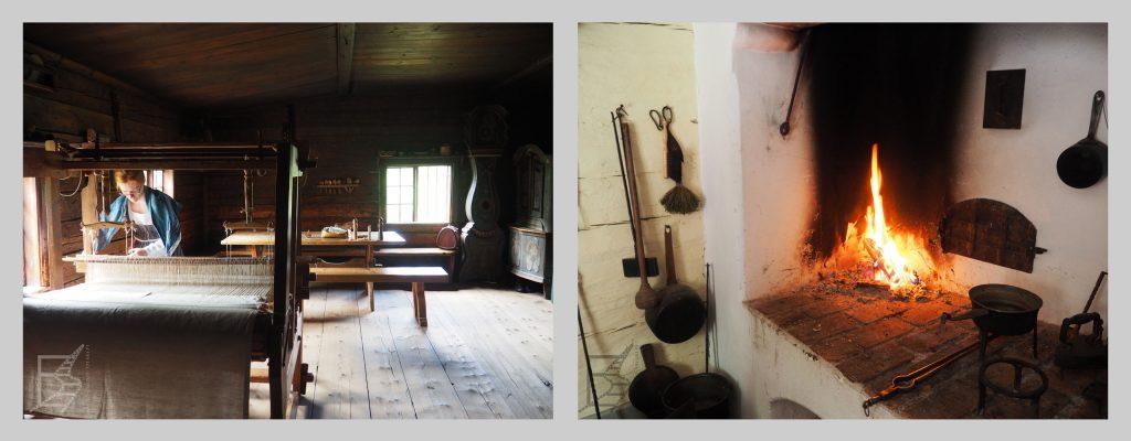 Wnętrza domostw w Skansenie w Sztokholmie, czyli styl skandynawski trafia pod strzechy