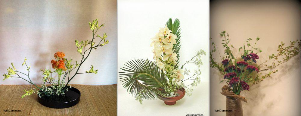 Ikebana we wnętrzu to ciekawa zieleń w stylu japońskim