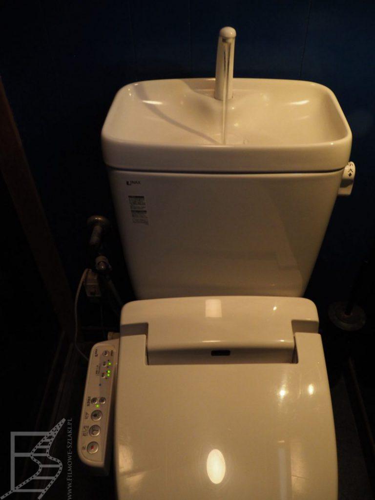 Toaleta myjąca w Japonii w hotelu w miescie Kamakura