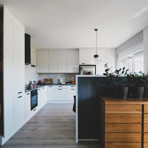 Oddech - otwarty plan kuchni